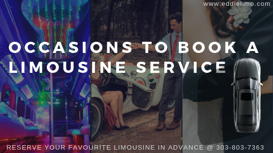 Book your limo for your special occasions.